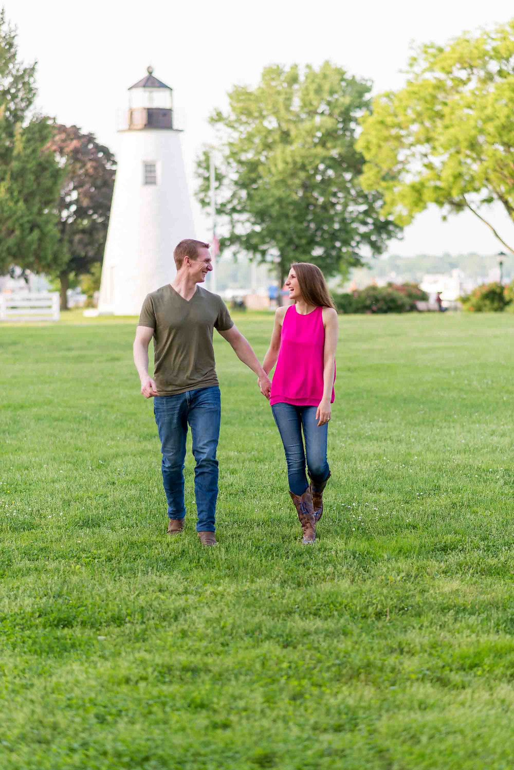 Concord Point Lighthouse Engagement