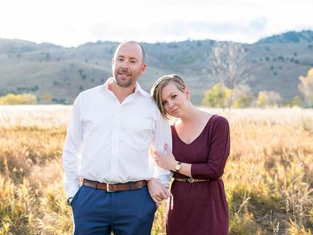 Jennifer & Pete's Wonderland Lake Engagement