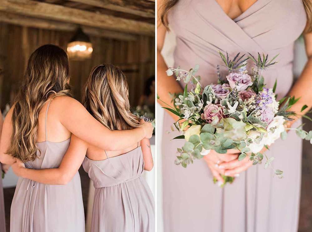 Bridesmaid Bouquet at Brandywine Manor House