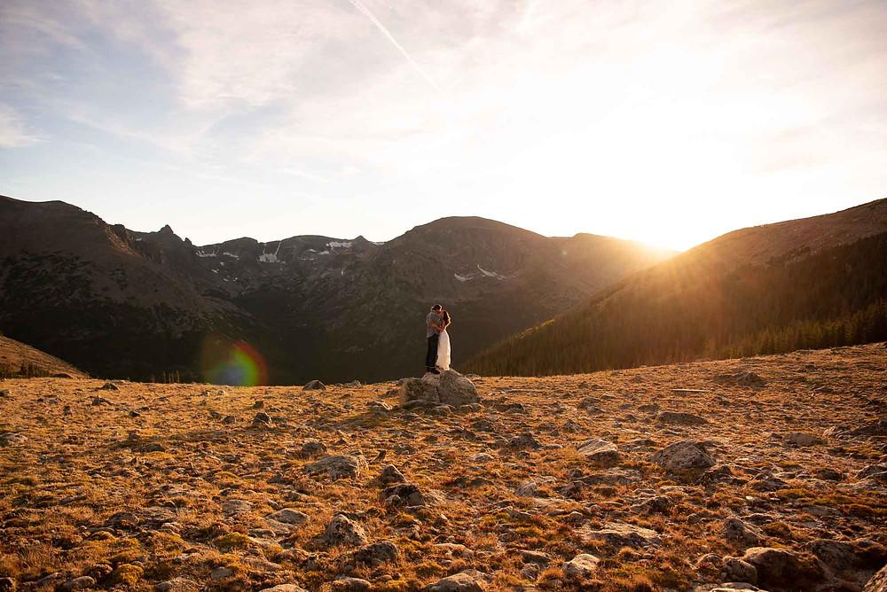 Epic Colorado Landscape for Engagement Photo Session