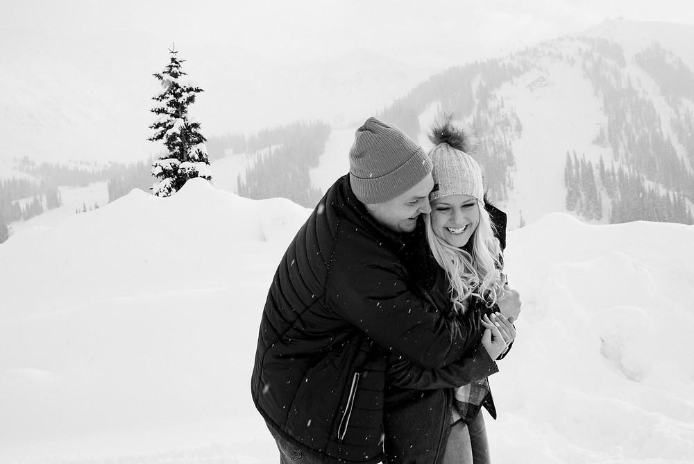 Winter Engagement Photo Inspiration
