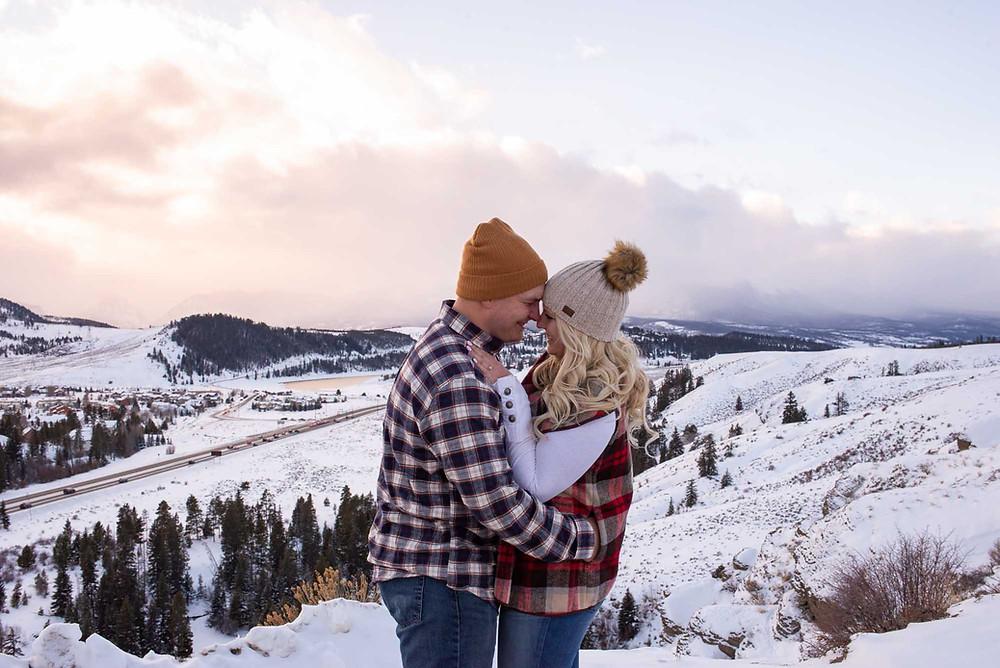 Colorado Winter Proposal Near Dillon