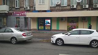 LED видео экран в витрину магазина Поиграйка