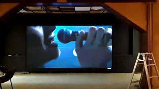 Внутренний LED видео экран высоко разрешения для ночного клуба.
