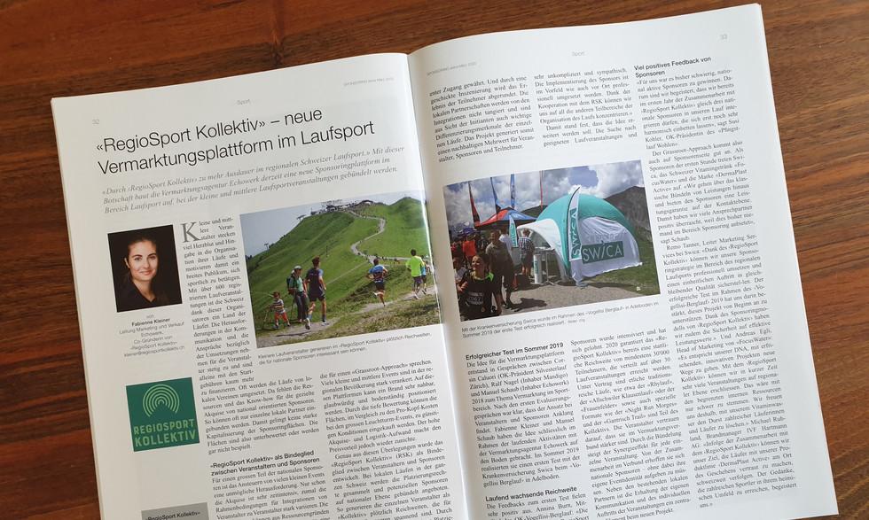 Bericht RegioSport Kollektiv