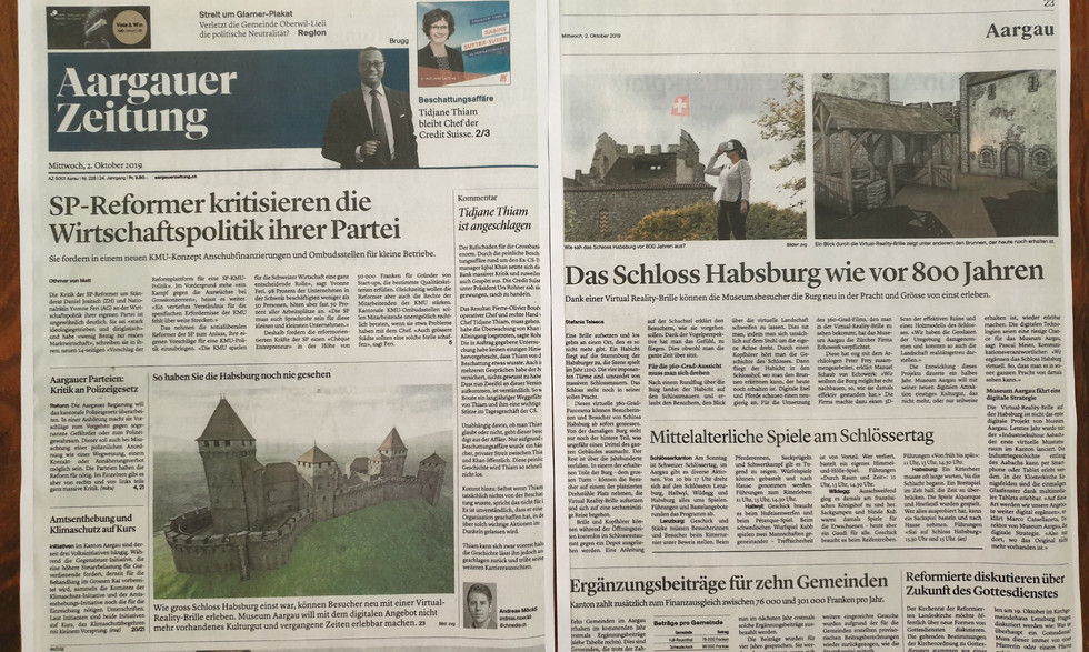 Bericht VR-Experience Habsburg