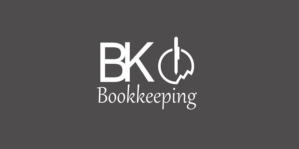 BK Bookkeeping logo white bigger backgro