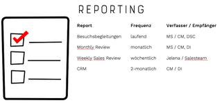 Reportingstruktur