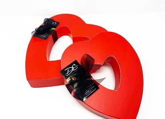 Box Coeur chocolat et confiseries