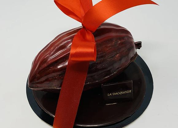 Cabosse de chocolat garnies