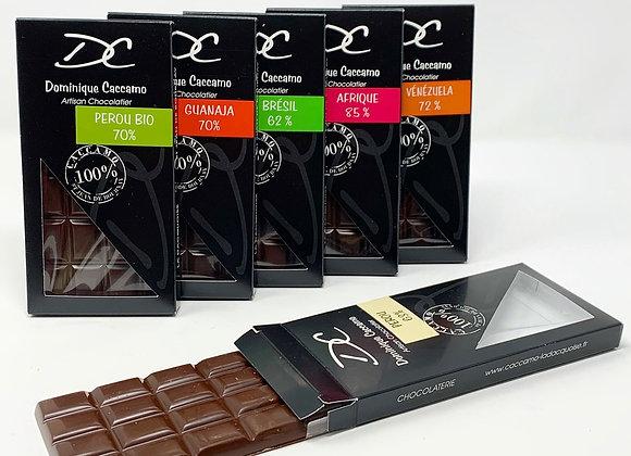 Box tablettes Cacao Noir