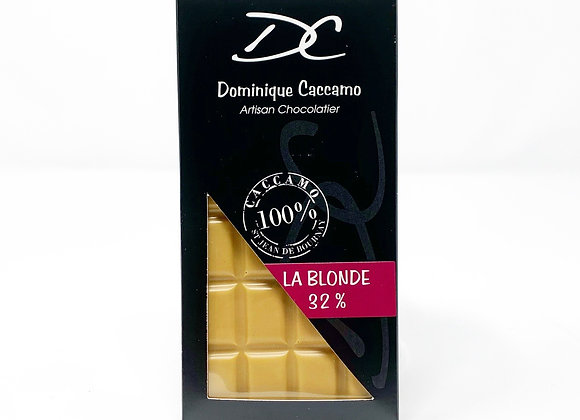 tablette chocolat: la Blonde