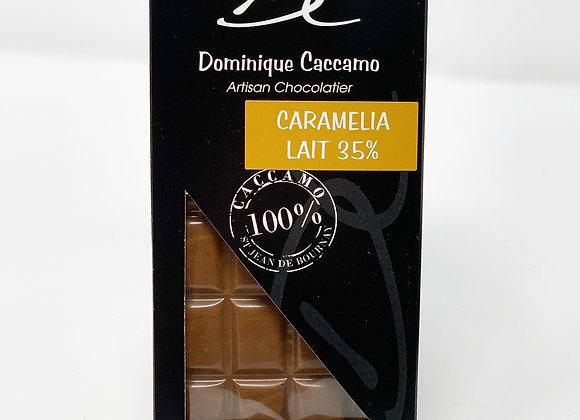 Tablette de chocolat lait Caramélia 35%