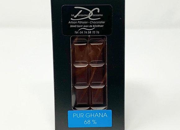 Tablette de Chocolat noir Ghana 68%