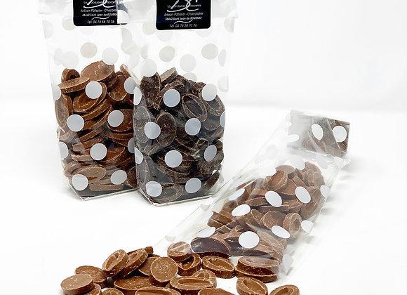 Palets de chocolat