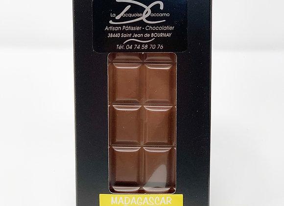 Tablette de chocolat au lait Banane 50%