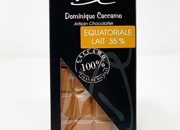 Tablette de chocolat Lait Equatorial 35%