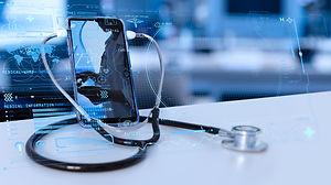 Tele medicine concept,Medical Doctor onl