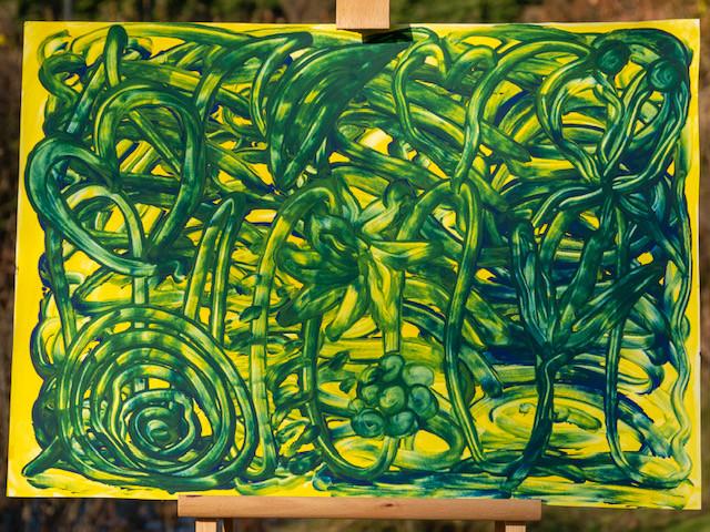 13 - Aus blau trifft gelb wird Dschungel