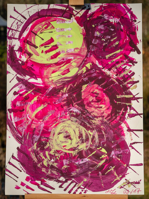 25 - Pink cactus