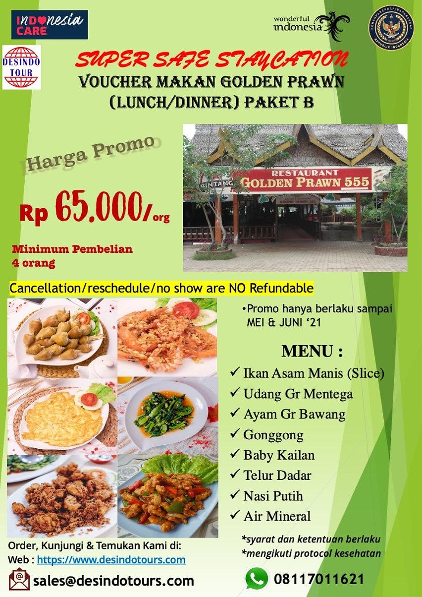 NEW PROMO Foodcation at Golden Prawn B.J