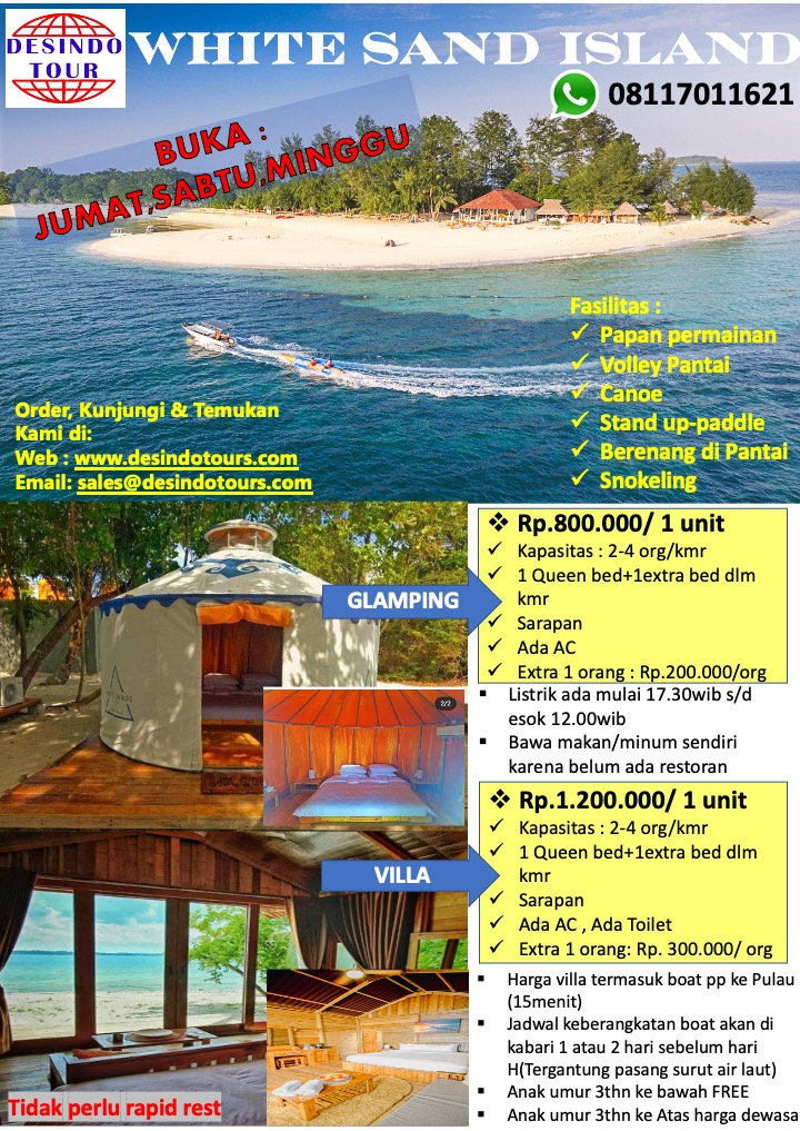 NEW PROMO 2D1N STAYCATION AT WHITE SAND