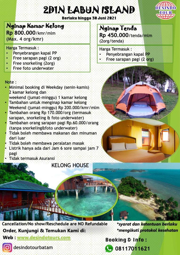 NEW PROMO 2D1N Vacation to Labun Island.