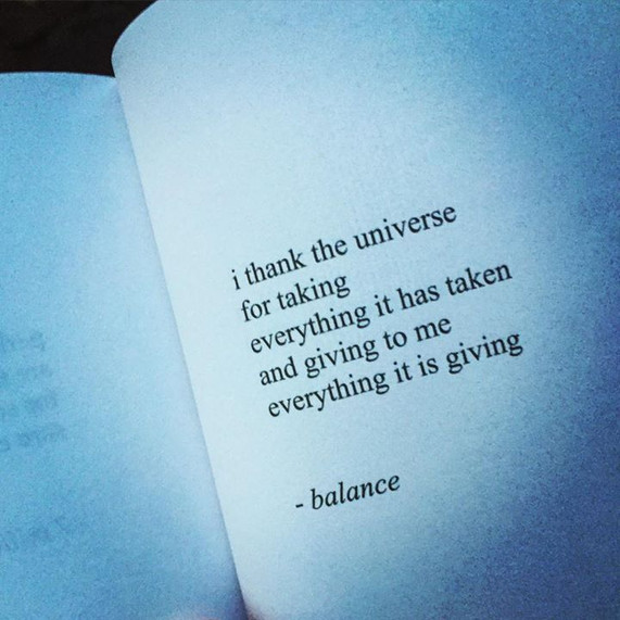 """A quote from """"Milk and Honey"""" by Rupi Kaur."""