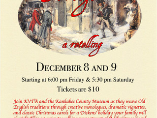Traditions Reborn ~ An Evening with Scrooge: A Retelling