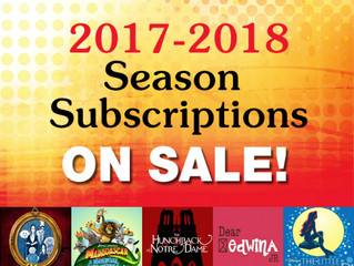 10 Reasons You Should Become a Season Subscriber
