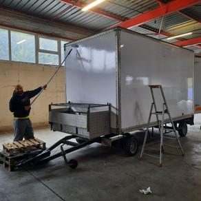 La peinture du food truck