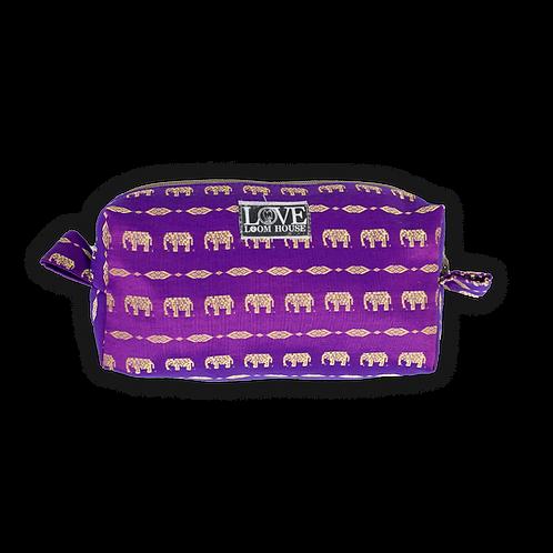 Purple Elephant Travel Bag