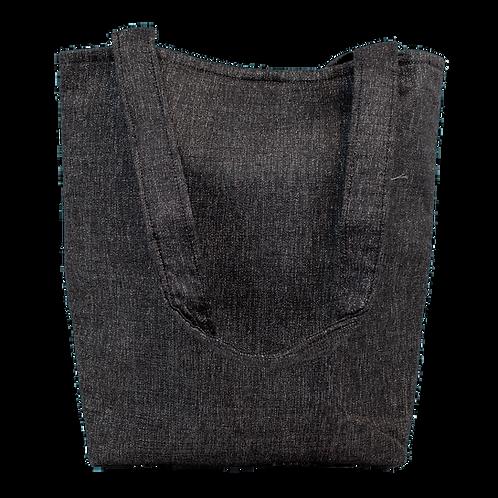 Grey Sparkle Tote Bag