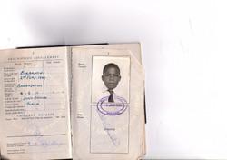 first british passport