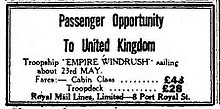 220px-Newspaper_advert_for_passengers_to