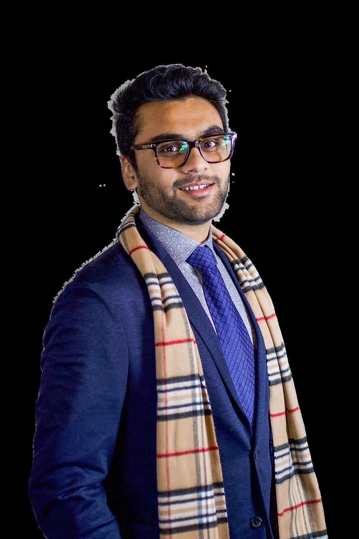 A portrait of Shlok Patel.