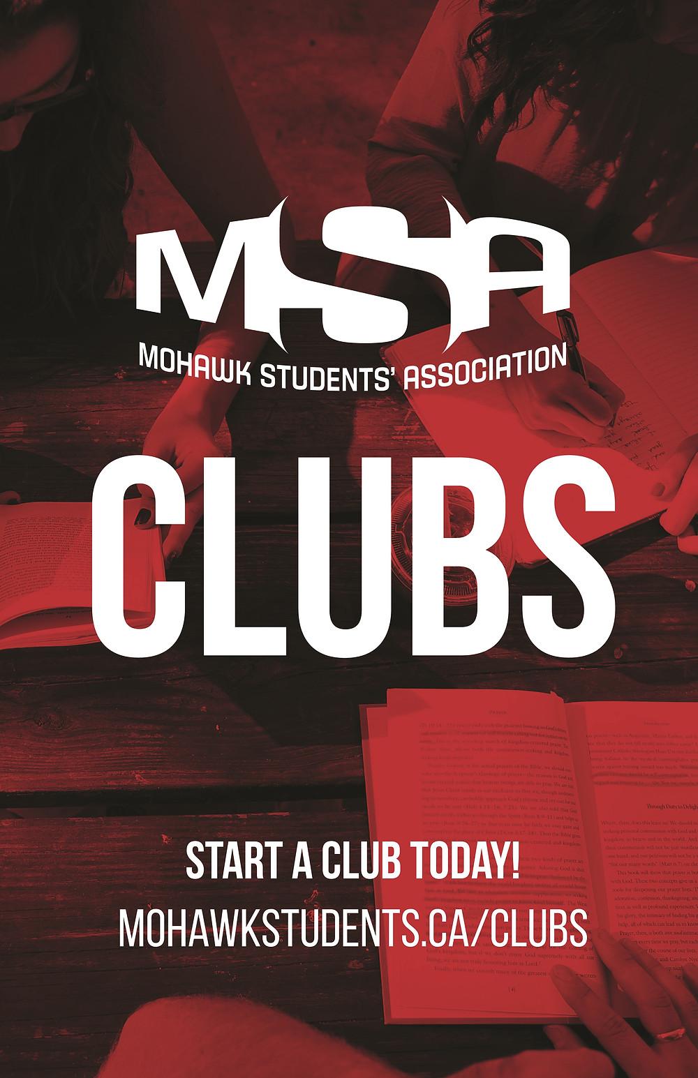 The MSA clubs logo.