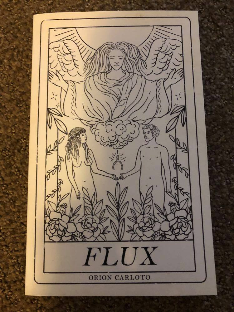 Flux by Orion Carloto book cover.