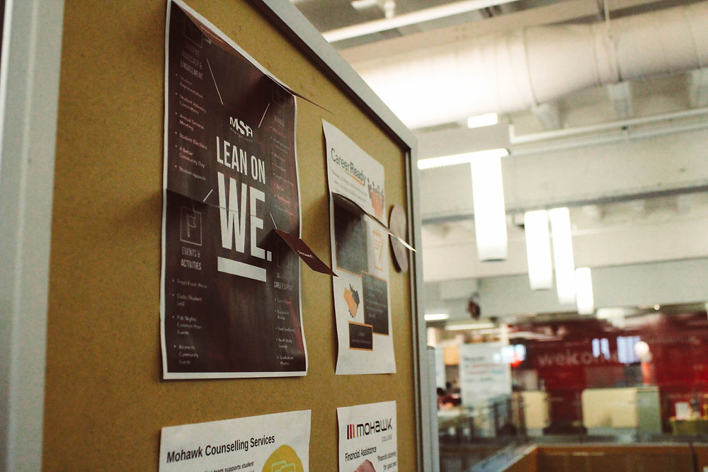 An MSA Lean on WE poster.