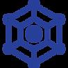 network (cobweb to represent connection/network) icon