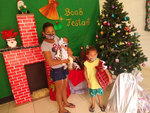 Um pouco do nosso Natal...