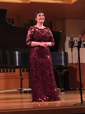 Recital at Linfield College, 2016.