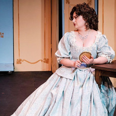 Megan as Countess Almaviva in Aquilon Music Festival's production of Le nozze di Figaro, 2018. Photo credit: John Pak