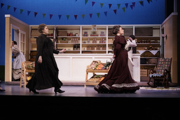 Lady Billows in PSU's production of Albert Herring, April 2018.