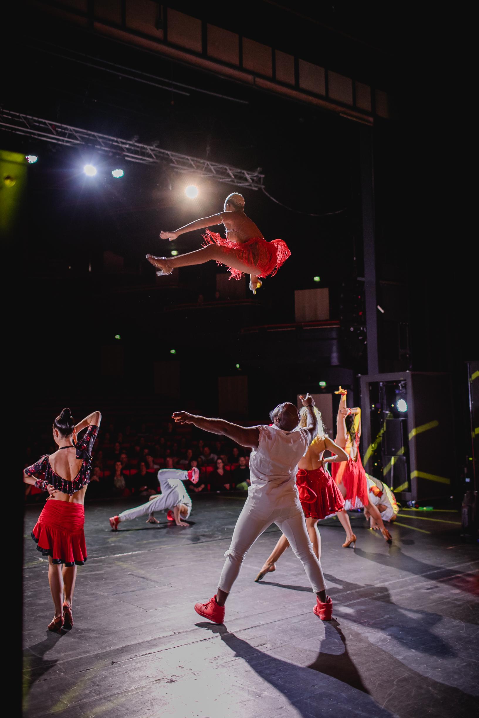 Breakdance trifft auf Salsa