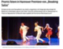 Braekingsalsa, Musical, Hannover Premiere, Promis, Salsa, Weldmeister,