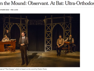 My first New York Times Review!