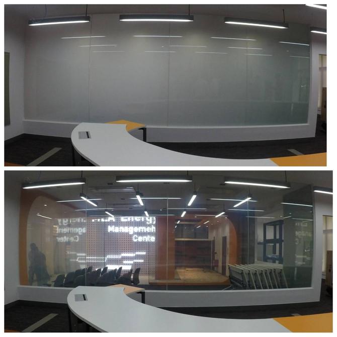 กระจกไฟฟ้า กระจกอัจฉริยะ ฟิล์มเปลี่ยนสี