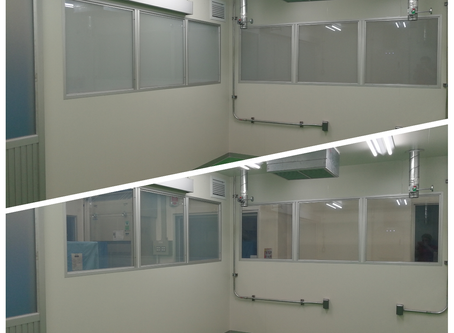 กระจกเปลี่ยนสี ฟิล์มเปลี่ยนสี