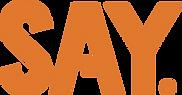 SAY_Logoset_MASTER_ORANGE_RGB.png